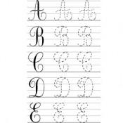 L'écriture cursive en voie de disparition