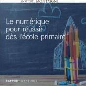 Lutter contre l'échec scolaire en primaire grâce au numérique